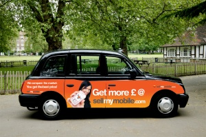 sellmymobile advert by guerilla