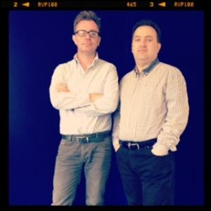 Ian & Gus - The masterminds behind Guerilla.